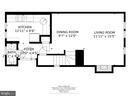 wood floors fireplace, big kitchen, storage closet - 4427 7TH ST N, ARLINGTON