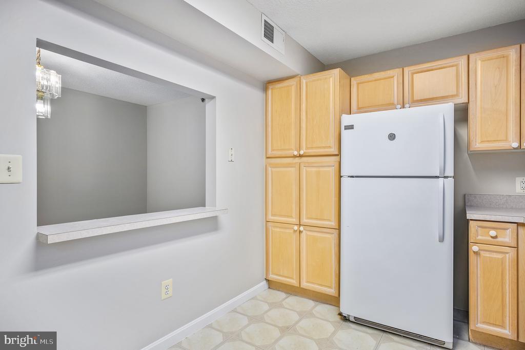 Kitchen - 19385 CYPRESS RIDGE TER #219, LEESBURG