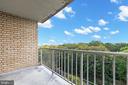 Enjoy the balcony. - 2500 N VAN DORN #1128, ALEXANDRIA