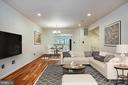 Living Room and  Dining Room With Virtual Staging - 1597 LEEDS CASTLE DR #101, VIENNA