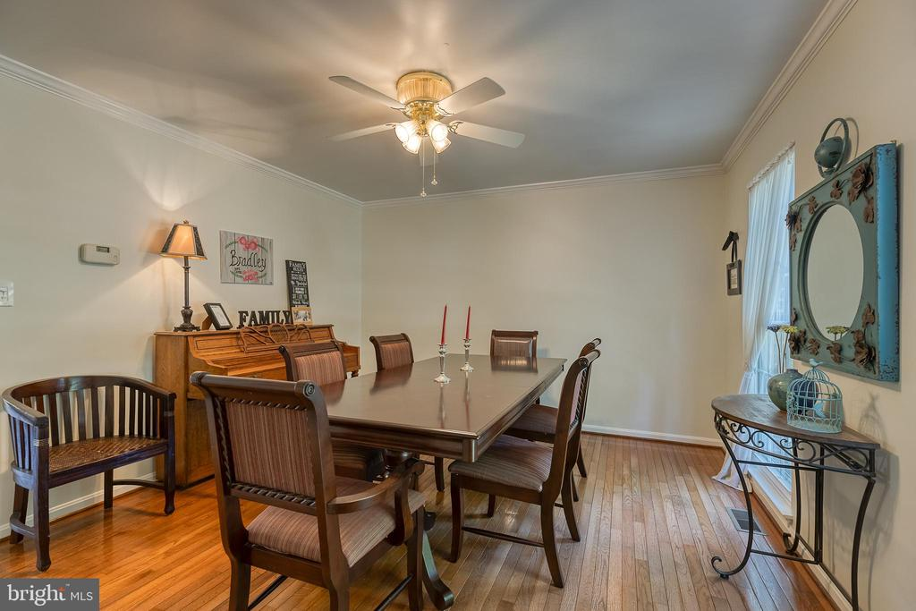 Formal dining room - 132 NORTHAMPTON BLVD, STAFFORD