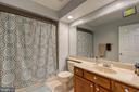 Additional full bath on upper level - 132 NORTHAMPTON BLVD, STAFFORD