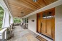 Expansive Covered Front Porch - 5312 CARLTON ST, BETHESDA