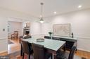 Formal Dining Room - 5312 CARLTON ST, BETHESDA