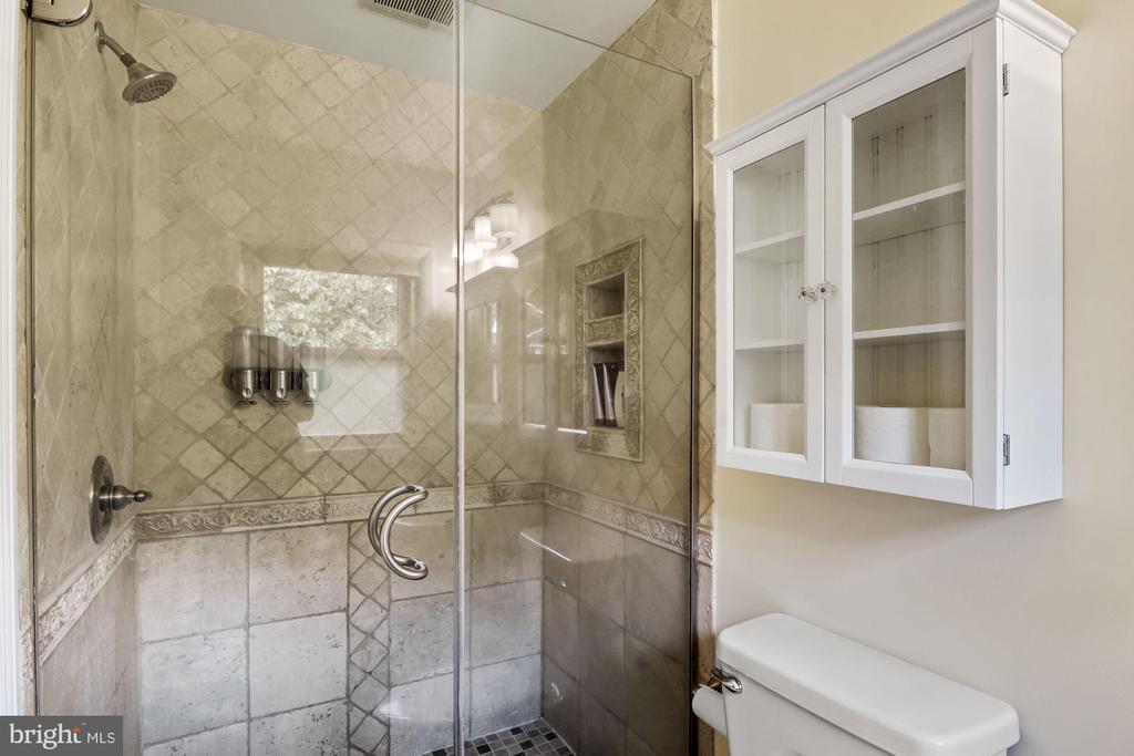 Beautiful Tile Work in Shower - 5312 CARLTON ST, BETHESDA
