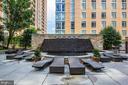 Fountain at pool - 11990 MARKET ST #215, RESTON