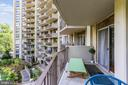 Balcony Overlooks Gardens - 9039 SLIGO CREEK PKWY #410, SILVER SPRING