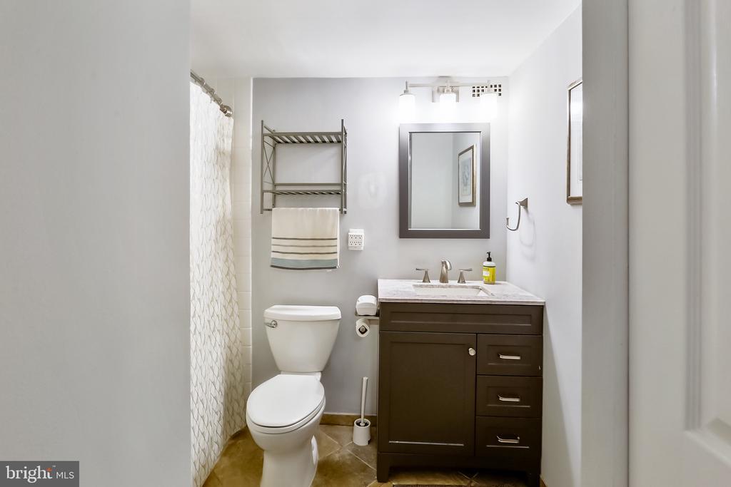 Updated Full Bath - 9039 SLIGO CREEK PKWY #410, SILVER SPRING