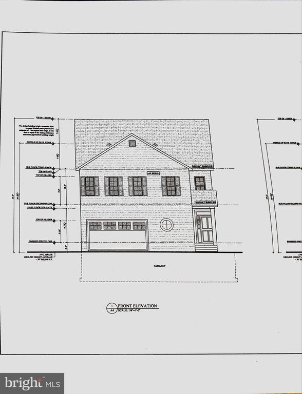 Craftsman new custom home to be built - 3501 QUEEN ANNE DR, FAIRFAX