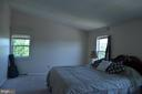 Huge master's suite with cathedral ceiling - 4900 EDGEWARE TER, FREDERICK