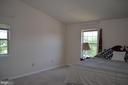 Master bedroom with plenty of windows - 4900 EDGEWARE TER, FREDERICK