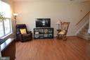 Living room with combo/dining room area - 4900 EDGEWARE TER, FREDERICK