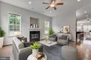 Living Room - 4018 TRAVIS PKWY, ANNANDALE