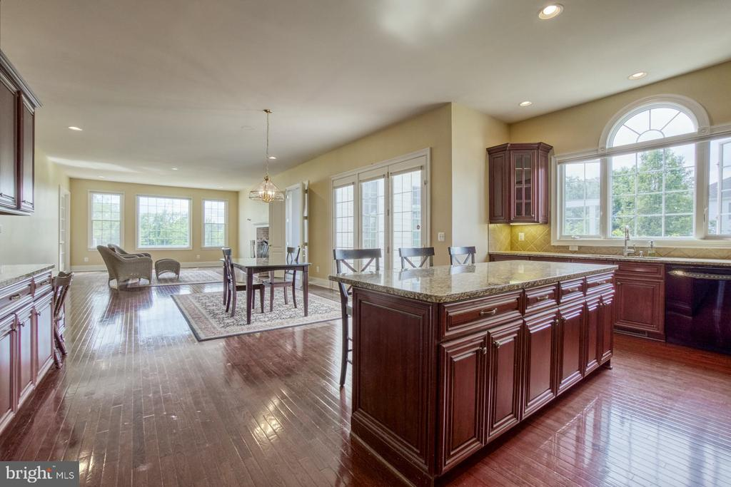 OPEN FLOOR PLAN WITH LOTS OF NATURAL LIGHT - 20003 BELMONT STATION DR, ASHBURN