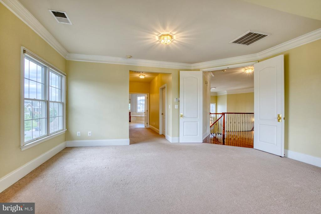 PRIMARY BEDROOM LEADS TO THE DRESSING AREA - 20003 BELMONT STATION DR, ASHBURN