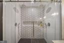 Double shower with a rain shower head too - 4110 WASHINGTON BLVD, ARLINGTON