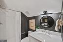 3rd bath with all new finishes - 4110 WASHINGTON BLVD, ARLINGTON