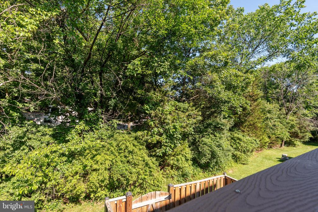 Don't miss out on this treed view townhouse! - 612 BURBERRY TER SE, LEESBURG
