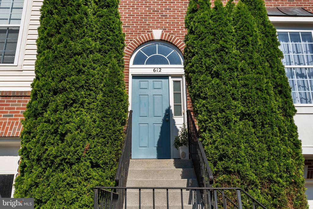 Elegant entrance welcoming to you and your guests - 612 BURBERRY TER SE, LEESBURG
