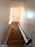Closet on main floor, hardwoods on both levels - 4639 A ST SE, WASHINGTON