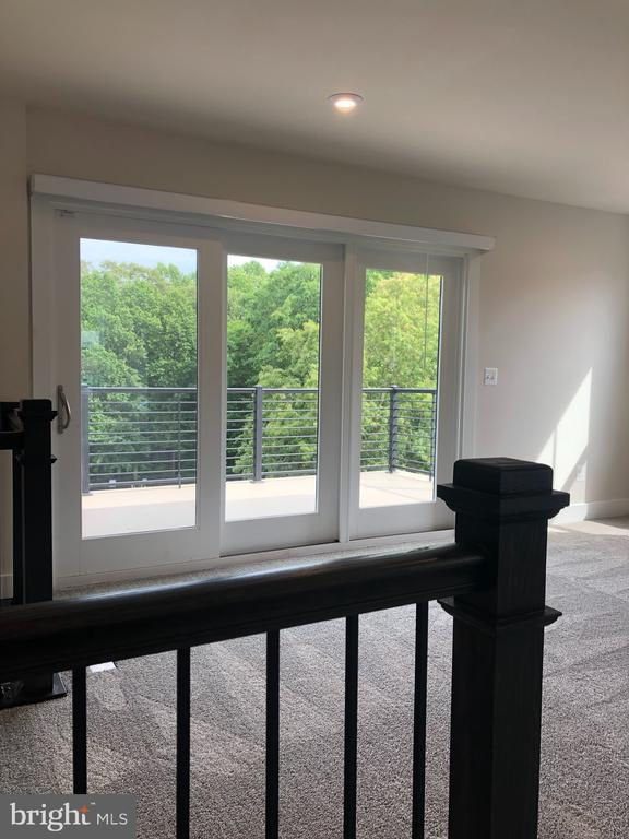Up the steps to the Rooftop Loft- Triple SGD - 12012 N SHORE DR, RESTON