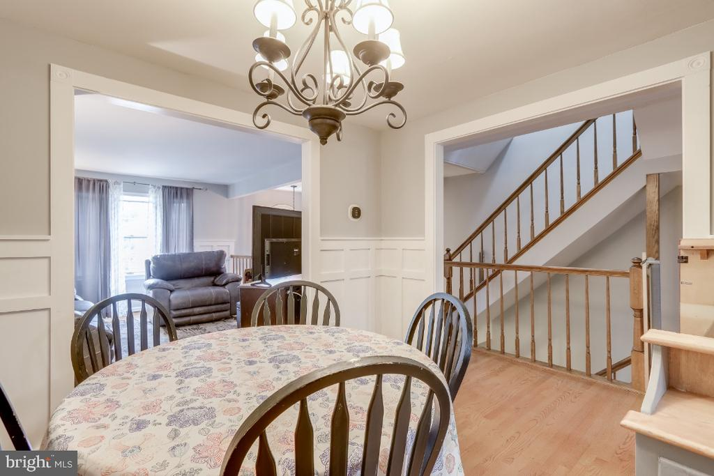 Dining room/ could be used for a TV room - 8288 WATERSIDE CT, FREDERICK