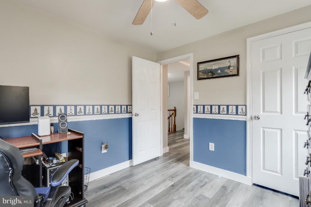 bedroom #3  LVT flooring - 8288 WATERSIDE CT, FREDERICK