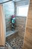 Master Bath Shower bench - 12300 PLANTATION DR, SPOTSYLVANIA