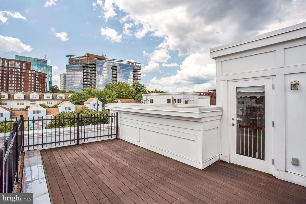 Rooftop Deck - 1418 N RHODES ST #B116, ARLINGTON