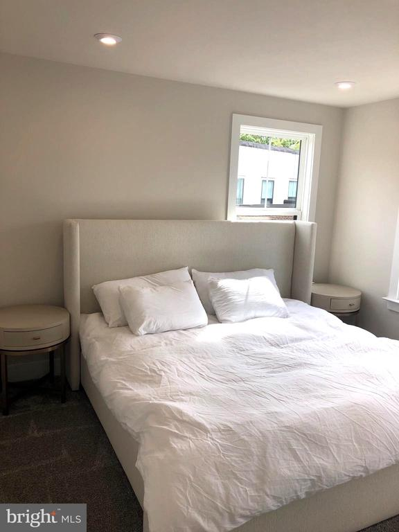 Light filled Bedroom with recessed lights - 12012 N SHORE DR, RESTON