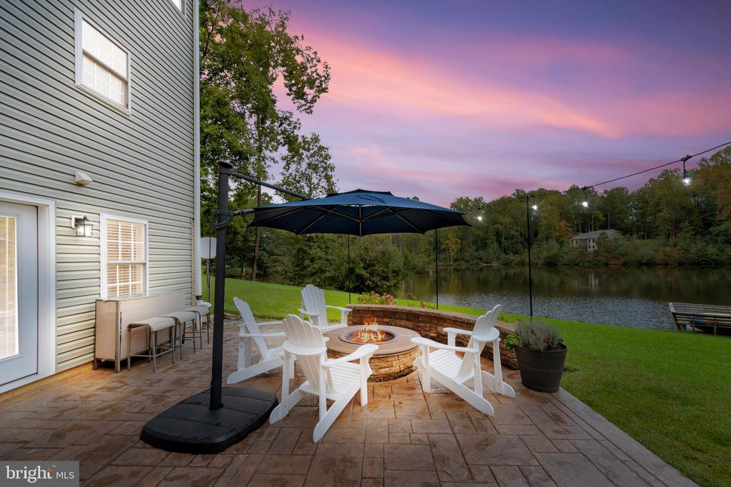 Imagine watching the sunset from here - 7398 JACKSON DR, KING GEORGE
