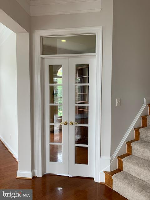 Private Office on main lvl w/built-ins - 43512 STARGELL TER, LEESBURG