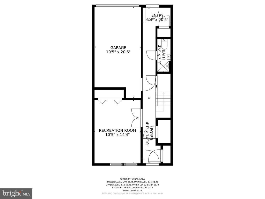 1st floor - 4110 WASHINGTON BLVD, ARLINGTON