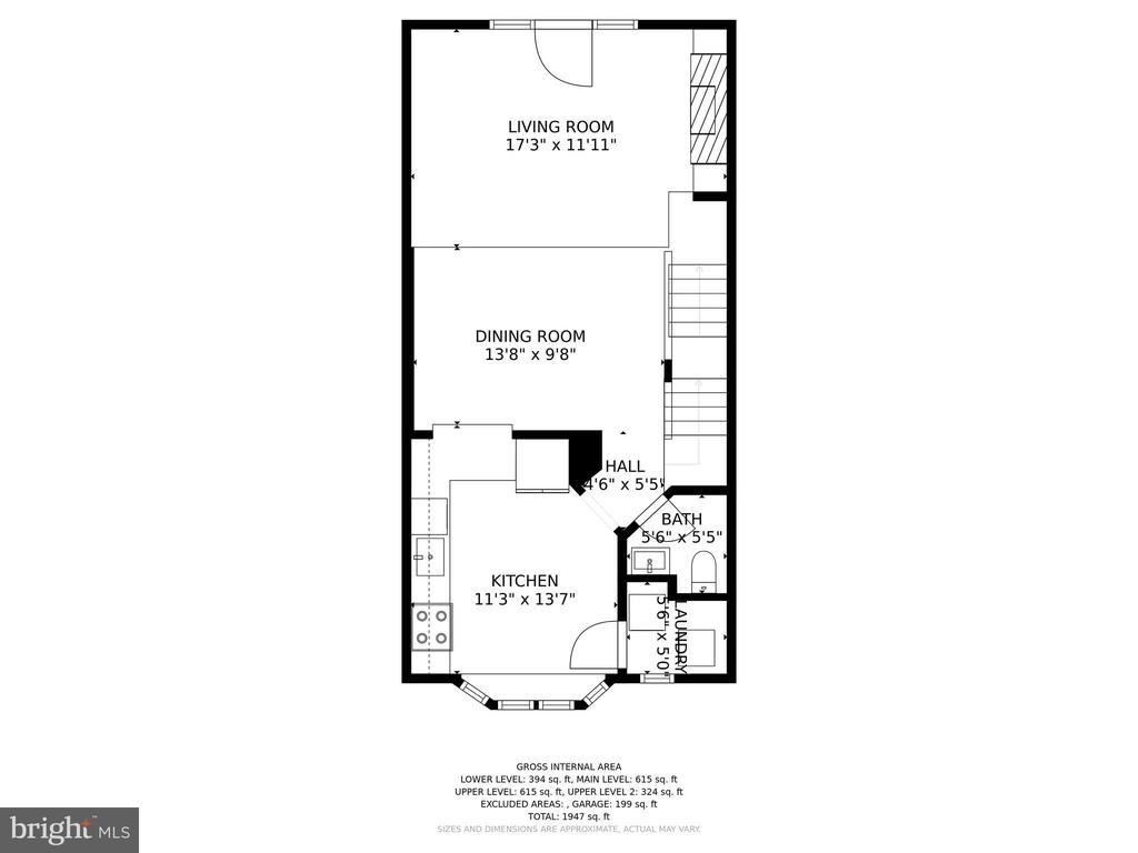 2nd floor - 4110 WASHINGTON BLVD, ARLINGTON