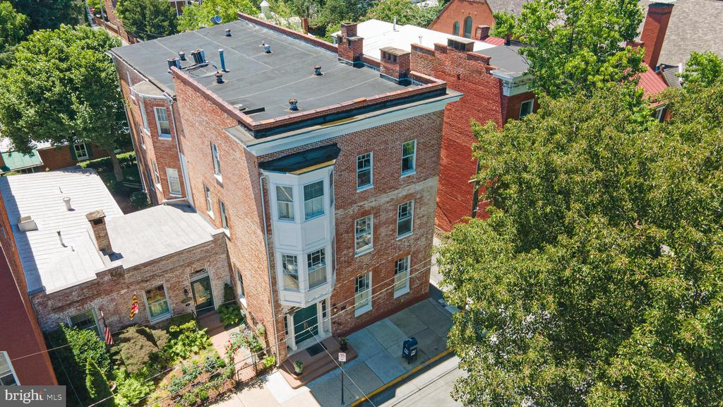elevated overview - 100 E 2ND ST, FREDERICK