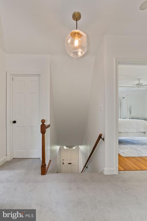 Upper Level Hall - 1537 N IVANHOE ST, ARLINGTON