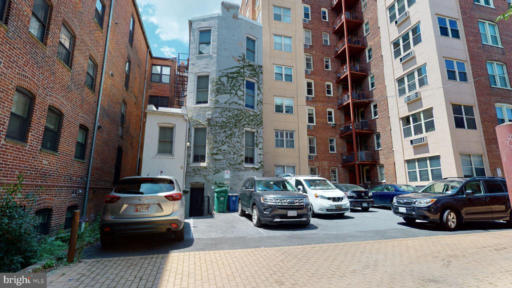 3 Parking in rear - 1735 20TH ST NW, WASHINGTON