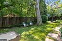 Private Backyard 2 - 1537 N IVANHOE ST, ARLINGTON