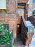 Private English basement entrance - 1735 20TH ST NW, WASHINGTON