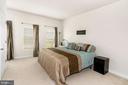 Upper Level Primary Bedroom - 22765 FOUNTAIN GROVE SQ, BRAMBLETON