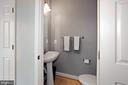 Main Level Half-Bath - 22765 FOUNTAIN GROVE SQ, BRAMBLETON