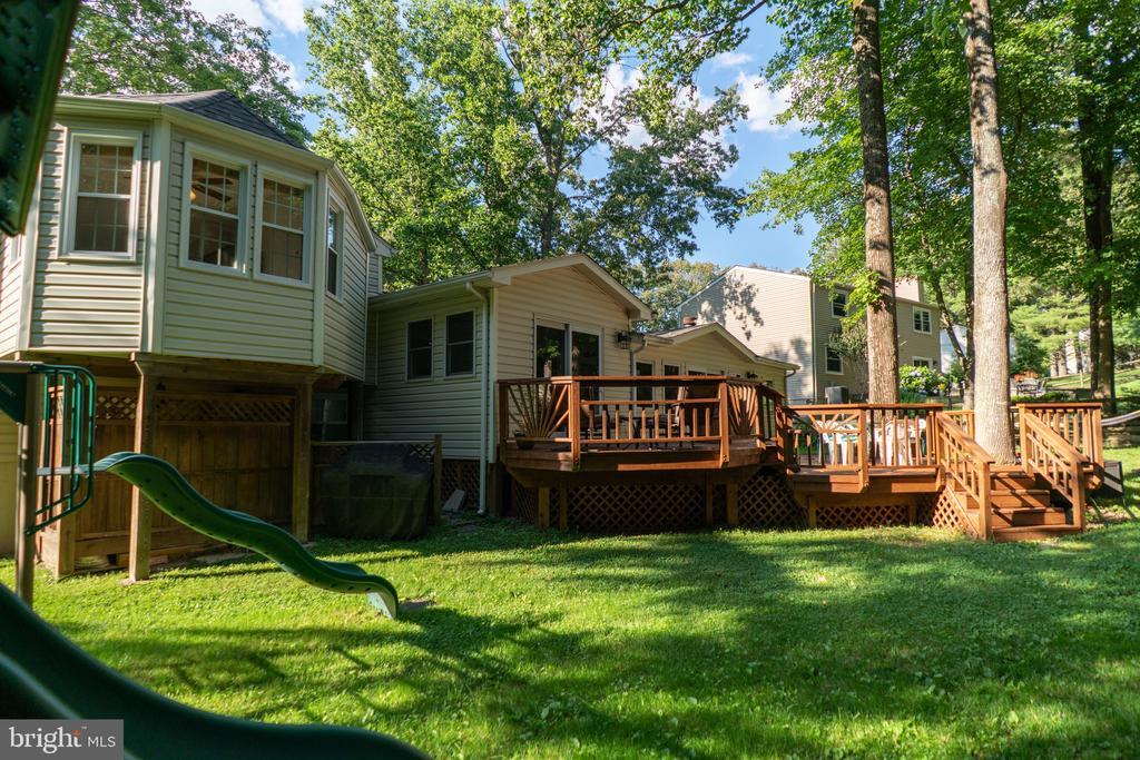 Backyard - 5919 VERNONS OAK CT, BURKE