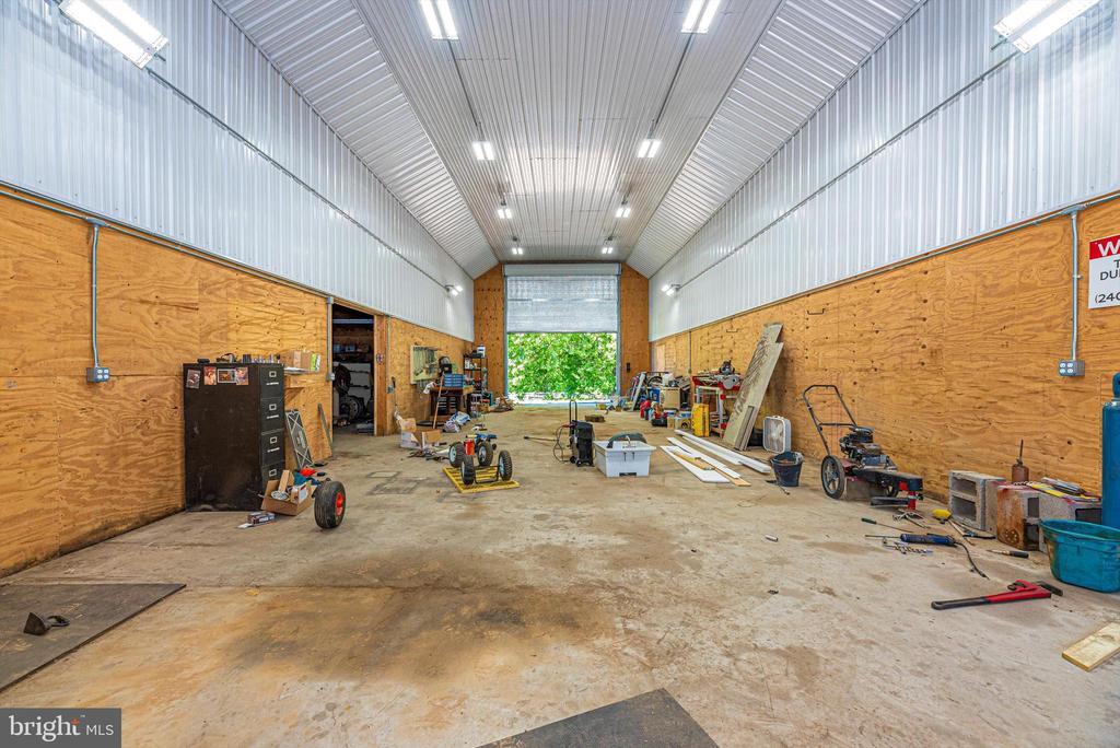 Inside shop - 10302 COPPERMINE RD, WOODSBORO