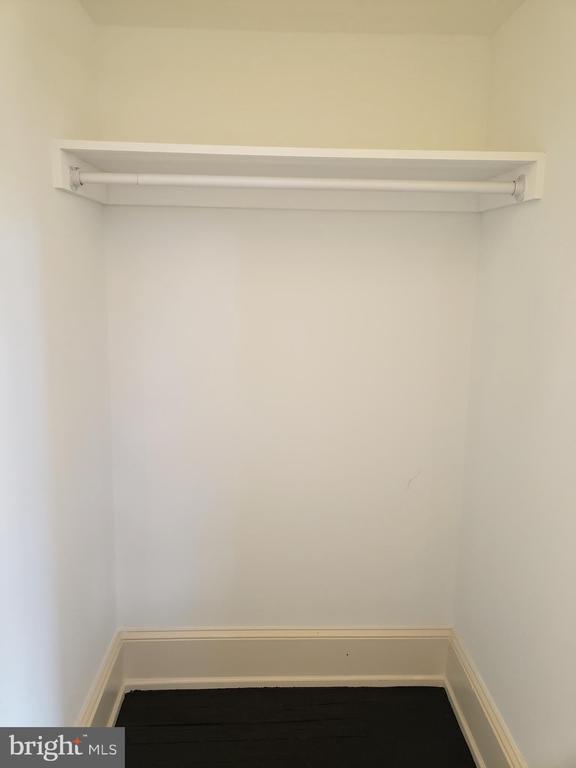2cd Floor Front Bedroom Walk In Closet - 1115 RHODE ISLAND AVE NW, WASHINGTON