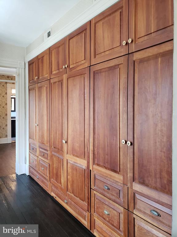 2cd Floor Middle Bedroom Built In Closet/Storage. - 1115 RHODE ISLAND AVE NW, WASHINGTON