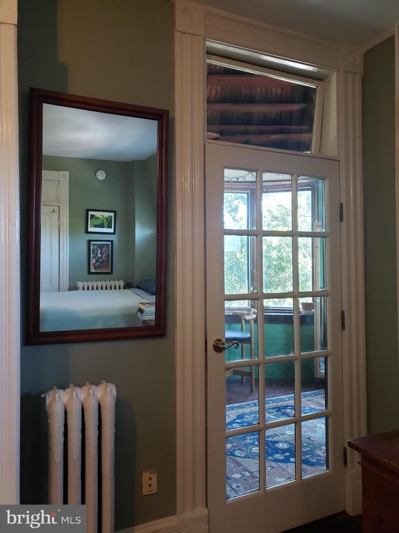 Door To Third Floor Front BR Sunroom. - 1115 RHODE ISLAND AVE NW, WASHINGTON