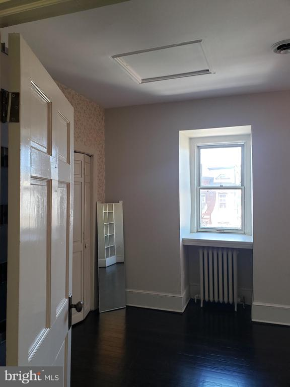 3rd Floor Back Bedroom/Work Out Space - 1115 RHODE ISLAND AVE NW, WASHINGTON