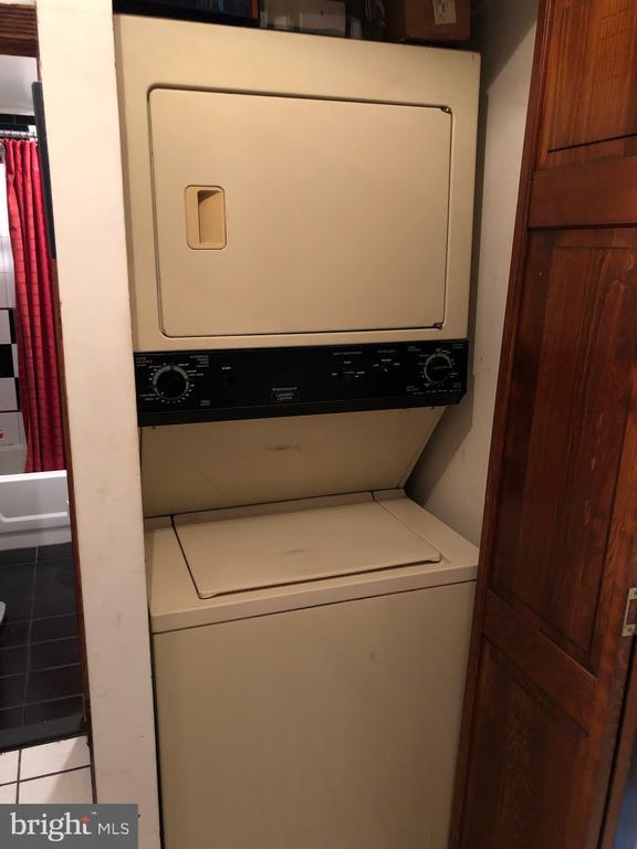 Basement Apartment Washer/Dryer. - 1115 RHODE ISLAND AVE NW, WASHINGTON