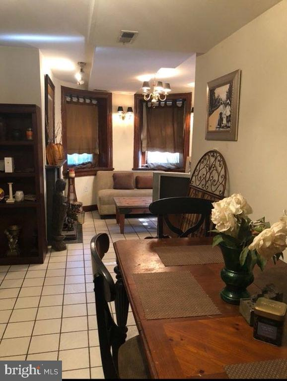 Basement Apartment Dining Area. - 1115 RHODE ISLAND AVE NW, WASHINGTON