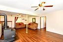 basement familyroom/rec room - 4 US FORD LN, FREDERICKSBURG